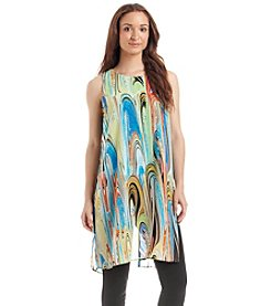 Melissa Paige Long Column Tunic Dress