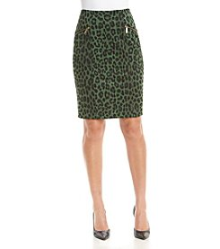 MICHAEL Michael Kors® Spotted Cheetah Skirt