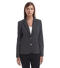 Marc New York Pinstripe Two Button Jacket