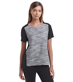 Calvin Klein Mix Media Tee