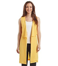 Relativity® Cascading Collar Vest