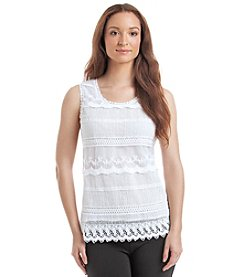 Relativity® Lace Tank Top