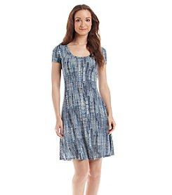 Karen Kane® Printed T-Shirt Dress