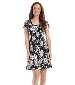 Karen Kane® Floral T-Shirt Dress