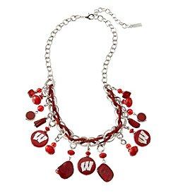 accessory PLAYS™ NCAA University Of Wisconsin Shaky Collar Necklace