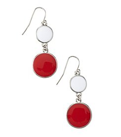 accessory PLAYS™ NCAA University Of Wisconsin Two Disc Drop Earrings