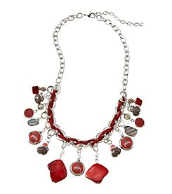 accessory PLAYS™ NCAA Ohio State University Frontal Shaky Collar Necklace