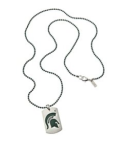 accessory PLAYS™ NCAA® Michigan State Spartans Dog Tag Necklace