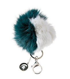 accessory PLAYS™ NCAA® Michigan State University Two-Tone Puff Charm Key Ring