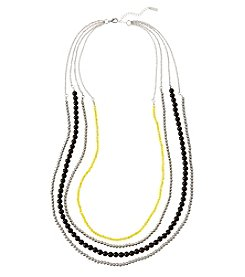 accessory PLAYS™ NCAA University Of Iowa Four Row Bead Chain Necklace