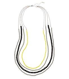 accessory PLAYS™ NCAA University Of Iowa Four Row Bead Chain Necklace