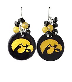 accessory PLAYS™ NCAA University Of Iowa Shell Cluster Earrings
