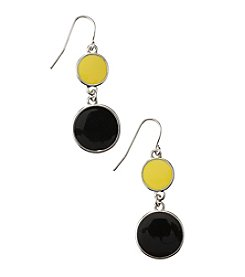 accessory PLAYS™ NCAA University Of Iowa Two DiscDrop earrings