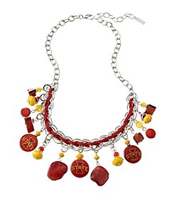 accessory PLAYS™ NCAA Iowa State University Frontal Shaky Collar Necklace