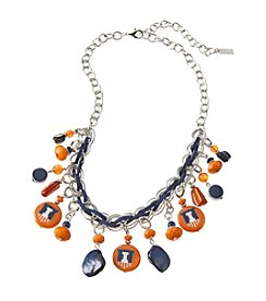 accessory PLAYS™ NCAA University Of Illinois Frontal Shaky Collar Necklace