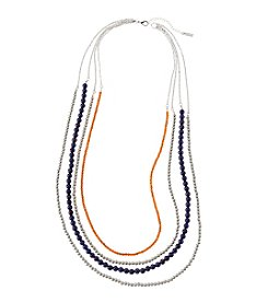 accessory PLAYS™ NCAA University Of Illinois Four Row Bead Chain Necklace