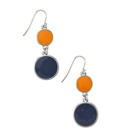 accessory PLAYS™ NCAA University Of Illinois Two Disc Drop Earrings