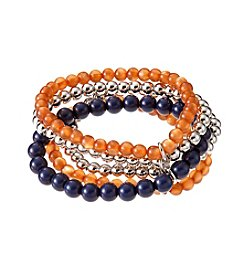 accessory PLAYS™ NCAA University Of Illinois Five Row Stretch Bracelet