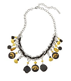 accessory PLAYS™ NCAA University Of Iowa Frontal Shaky Collar Necklace