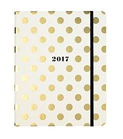kate spade new york® Dot Patterned Large Agenda