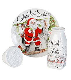 Fitz and Floyd® Vintage Milk and Cookies 3-pc. Set