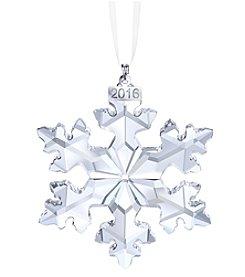 Swarovski® 2016 Snowflake Christmas Ornament