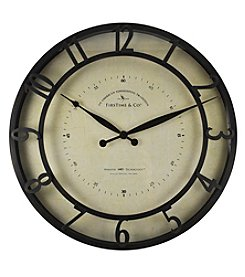 FirsTime Kensington Wall Clock