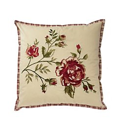 Waverly® Norfolk Embroidered Decorative Pillow