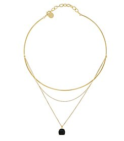 Vince Camuto™ Goldtone Delicate Collar & Chain Swag Pendant Necklace