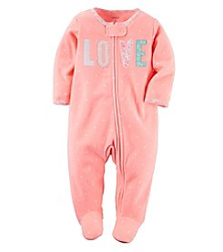 Carter's® Baby Girls' Love Applique Footie