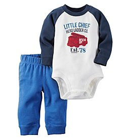 Carter's® Baby Boys 2-Piece Little Chief Bodysuit And Pants Set