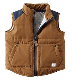 Carter's® Baby Boys Poplin Vest
