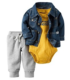 Carter's® Baby Boys 3-Piece Seriously Handsome Set