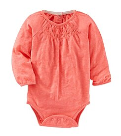 OshKosh B'Gosh® Baby Girls' Smocked Bodysuit