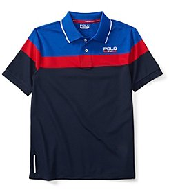 Polo Sport Boys' 8-20 Stripe Active Polo