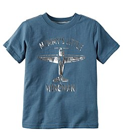 Carter's® Boys' 2T-4T Short Sleeve Mommy's Little Wingman Tee