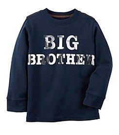 Carter's® Boys' 2T-8 Long Sleeve Big Brother Tee