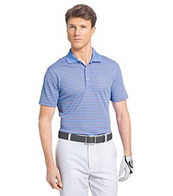 Izod® Men's Feeder Stripe Short Sleeve Golf Polo