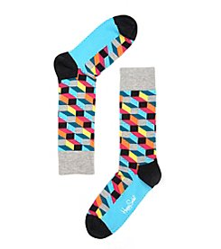 Happy Socks® Men's Filled Optic Dress Socks