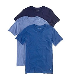 Polo Ralph Lauren® Men's 3-Pack Slim V-Neck Short Sleeve Undershirts