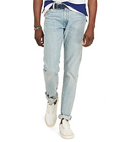 Polo Ralph Lauren® Men's Varick Slim-Straight Eldon-Wash Jeans