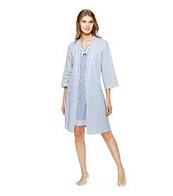 Aria® Robe And Chemise Set