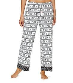 Ellen Tracy® Printed Palazzo Pajama Pants