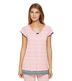 Ellen Tracy® Printed Pajama Top