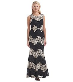 Calvin Klein Lace Gown