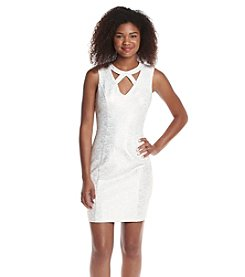 GUESS Knit Sheath Dress