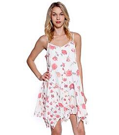 Skylar & Jade™ Floral Hanky Hem Dress