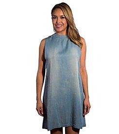 Skylar & Jade™ Denim Side Cutout Dress
