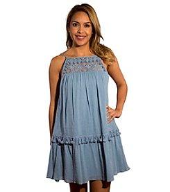 Skylar & Jade™ High Neck Lace Dress