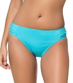 Bleu|Rod Beattie® Jet Set Tab Side Hipster Bottoms